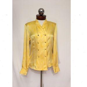 Escada Tops - ESCADA margaretha ley vintage silk shirt