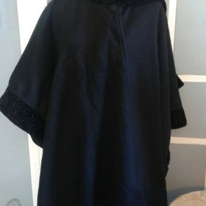 Lord & Taylor  cape in black