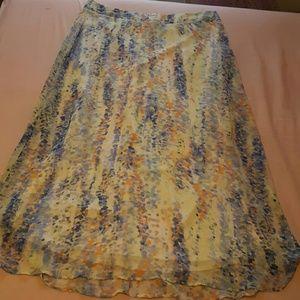 Cato Dresses & Skirts - Pastel Polka Dot Skirt