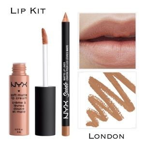 NYX Other - Matte Lip Kit - Mid-Tone Beige
