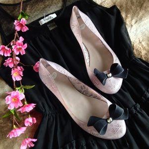 Melissa Shoes - Melissa Mel Jelly Ballerina Flats