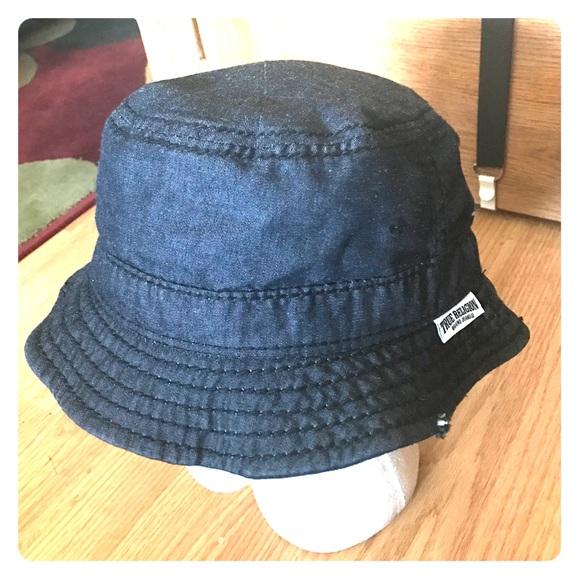 True Religion Denim Bucket Cap 0a798f929ab1