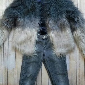 Acne Denim - Acne Faded Black Straight Leg Jeans (27/32)