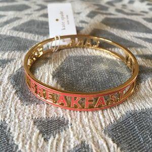 Kate Spade EAT CAKE FOR BREAKFAST Bangle Bracelet