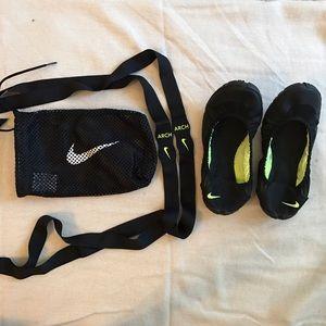 Nike Shoes - Nike Studio Wrap BalletShoes, Straps & WashBag 6.5