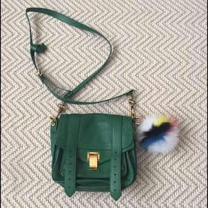 Eugenia Kim Accessories - NEW Eugenia Kim Fox Fur Pom-Pom Bag Charm Key Fob