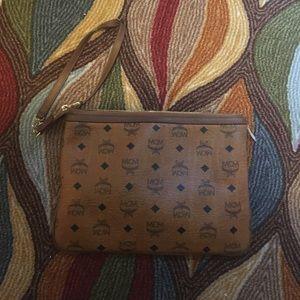 MCM Handbags - MCM small zipper arm bag.