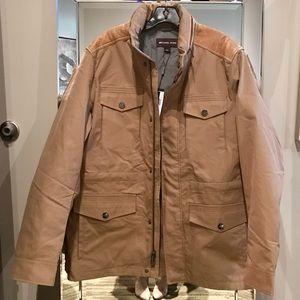 NWT Michael Kors Men's Utility Jacket Husk Large