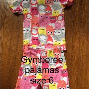 Gymboree Other - Girls Owl pajamas