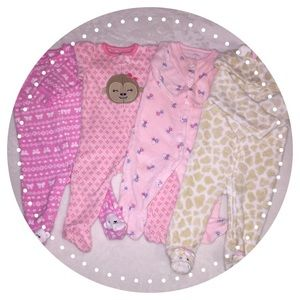Carter's Other - Bundle of 4- sleep n play suits🌸