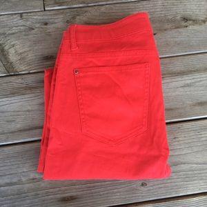 Buckle Denim - Red Skinny Jeans