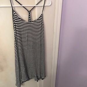Old Navy Tops - Black and white stripped tank