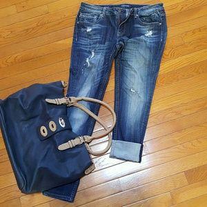 Vigoss Denim - Distressed skinny jeans