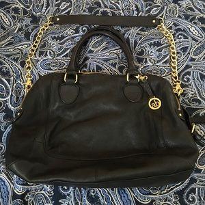 Audrey Brooke Handbags - Black leather Audrey Brooke purse