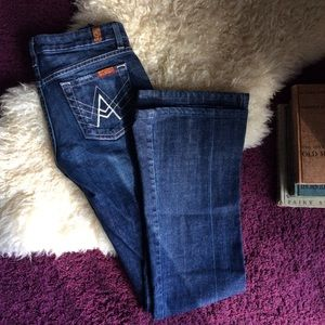7 For All Mankind Denim - Seven 7 For All Mankind A pocket bootcut jeans