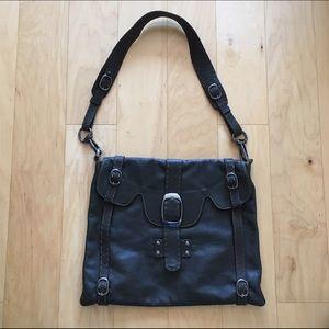 Carla Mancini Handbags - Carla Mancini Leather Shoulder Bag