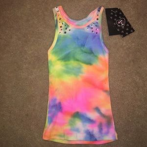 Flowers by Zoe Other - Kids tie dye tank top