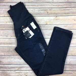 Gap Maternity Real Straight Jeans
