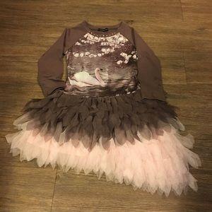 Kate Mack Other - Kate Mack girls swan dress size 5
