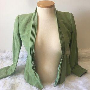 Armani Collezioni Silk-Linen Blazer