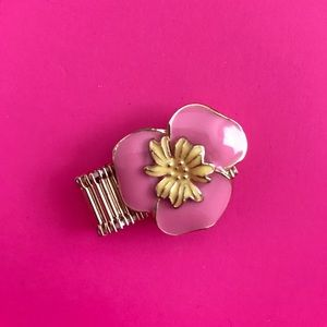 Lilly Pulitzer flower ring