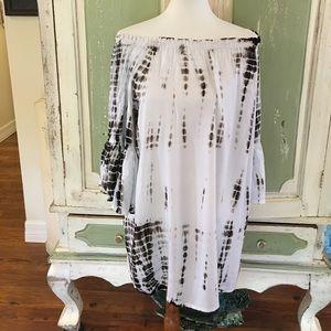 Raviya size medium tye dye tunic/shirt