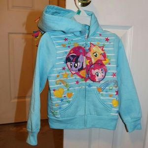 My Little Pony Other - My little Pony Girl's Hooded Jacket Size 4T
