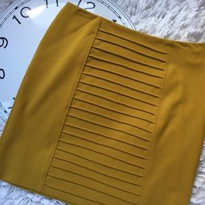 Adrienne Vittadini Dresses & Skirts - Adrienne Vittadini Mustard Yellow Pencil Skirt