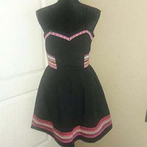 Aryeh Dresses & Skirts - Colorful Black dress