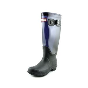 Hunter Boots Shoes - Hunter Original Clear Leg Round Boot size 6