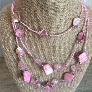 Jewelry - Hand beaded statement necklace