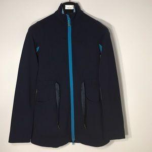 Lululemon Yohari Jacket Blue/Gingham