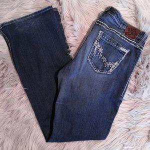 Big Star Denim - Big Star Maddie Mid Rise Jeans