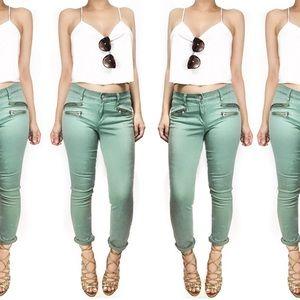 Joe's Jeans Denim - Joes jeans rocker skinny in military green pants