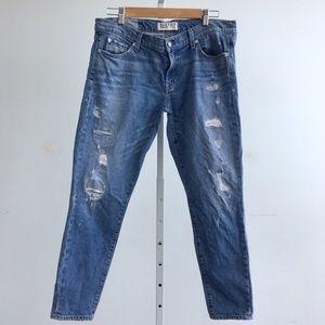 TEXTILE Elizabeth and James Jeans - Elizabeth & James Distressed Skinny Jeans