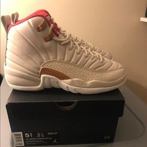 Jordan Shoes - Nike Air Jordan 12 Retro CNY - Sizes 5.5Y & 5Y