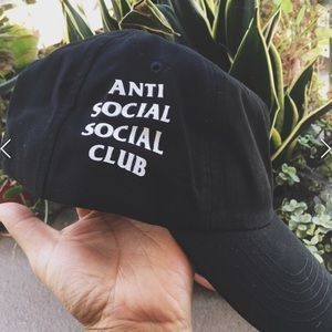 Anti Social Social Club Accessories - **ANTI SOCIAL SOCIAL CLUB HAT