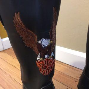 Harley-Davidson Shoes - Harley Davidson Women's vintage eagle boots size 8