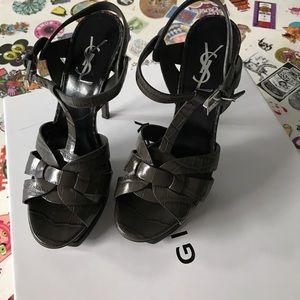 Saint Laurent Shoes - YSL Saint Laurent Classic Croc Tribute 105 Sandals