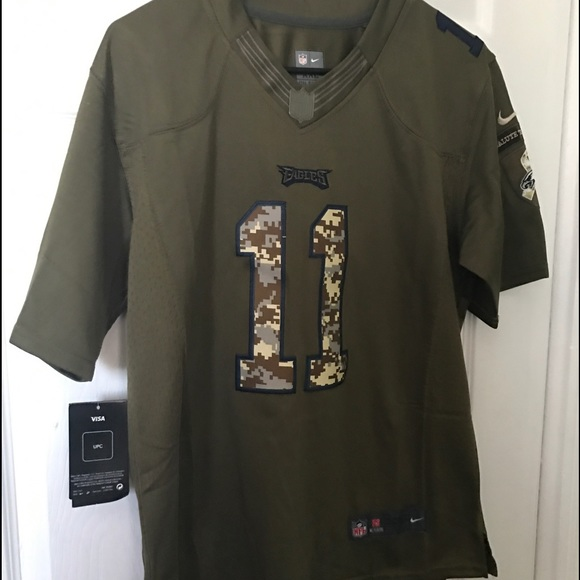 the latest 4c2fb f2d97 NWT-Nike Carson Wentz jersey size xxl salute Boutique