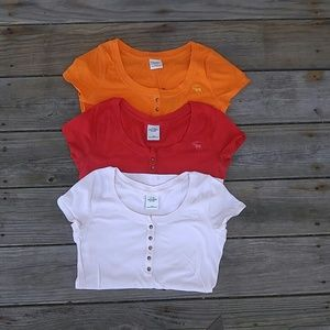 abercrombie kids Other - Abercrombie button up tshirt bundle