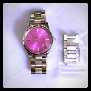 Michael Kors watch with links &the box.