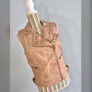 Love Culture Jackets & Blazers - Love Culture Moto Vest