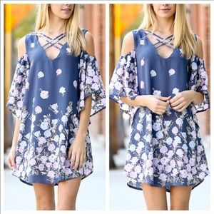 October Love Dresses & Skirts - Floral Spring Criss Cross Dress! Various sizes! 💜