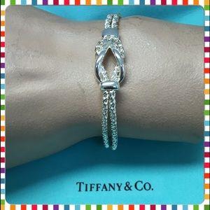 ❤️🔴Authentic,New Tiffany&Co Double Rope Bracelet