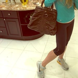 Christian Dior Handbags - Christian Dior large leather tote