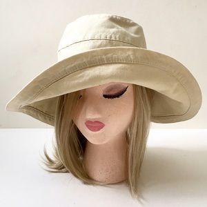 Scala Accessories - Scala Soft Sided Cotton Sun/Gardening Hat❤