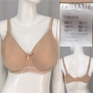Fantasie Other - 🍂Size 34G Fantasie Full Coverage Nude Color Bra