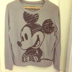Disney Tops - Disney Classic Mickey Mouse Pullover