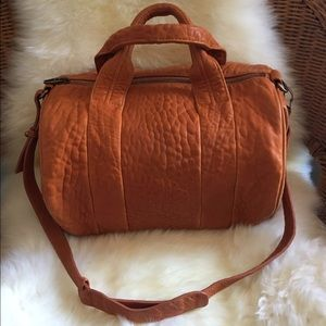 Alexander Wang Handbags - Alexander Wang Orange Rocco bag